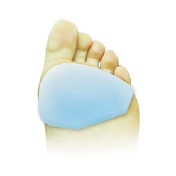 Ladies Silicone Metatarsal Protector, Pair