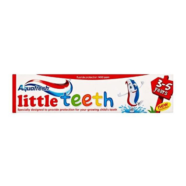 Aquafresh Little Teeth 3-5 Years Toothpaste 50ml