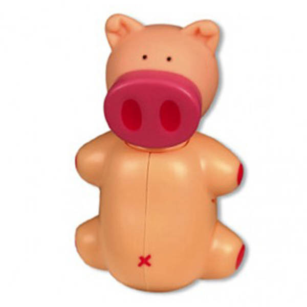 Hygienic Toothbrush Holder - Pig