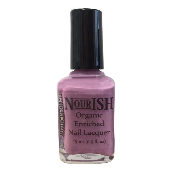 Nourish Organic Nail Polish 15ml. Aloha Orchid