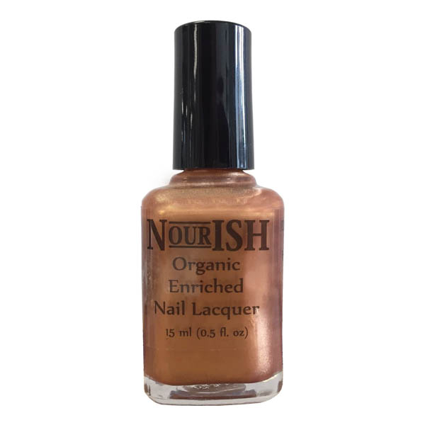 Nourish Organic Nail Polish 15ml. Bronzai