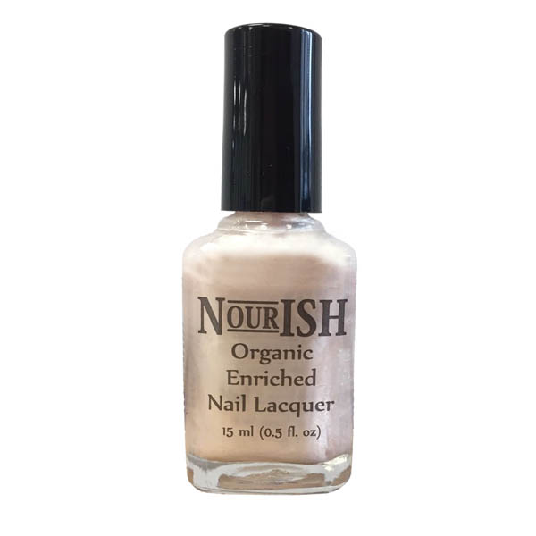 Nourish Organic Nail Polish 15ml. Pink Ice