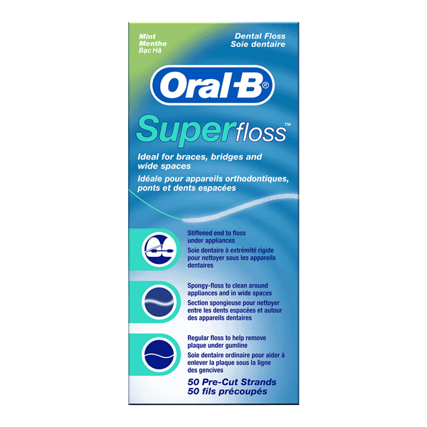 Oral-B Superfloss, Pack of 50