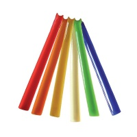 Plastic Multi Coloured Shoe Horns