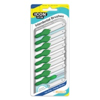Icon Interdentals Green (Size 5) Pk8, Pack of 8