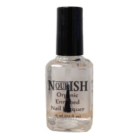 Nourish Organic Nail Polish 15ml. Clear Top Coat