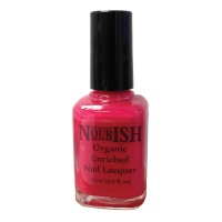 Nourish Organic Nail Polish 15ml. Strawberry