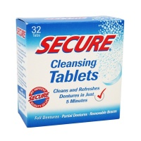 Secure Denture Tablets, Pack of 32