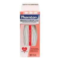 Proxysoft Bridge & Implant Floss (Thorntons), Pack of 30