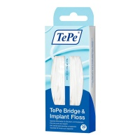 Tepe Bridge & Implant Floss, Pack of 30