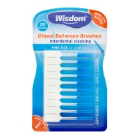Wisdom Clean Between Brushsticks Fine (Blue), Pack of 20